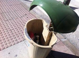 Residuos de la limpieza viaria